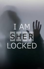 i am sher locked iphone wallpaper
