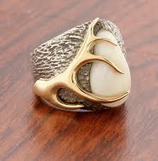 elk ivory ring