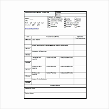Siop Lesson Plan Template 1 Siop Model Lesson Plan Template Lovely Siop Lesson Plan Template 2