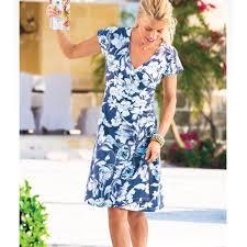 Soft Surroundings Size Chart Soft Surroundings Shapely Anywhere Faux Wrap Dress