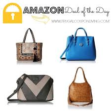 today only amazon offers a huge selection of designer handbags for 100 or less some of the brands you can find in this include baggallini