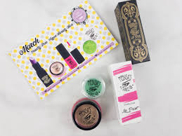 medusa s make up beauty box subscription box review march 2017 o subscription