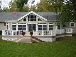 Backyard Deck Design Ideas Enchanting Deck Steps Deck Construction Decks R Us Decks Pinterest