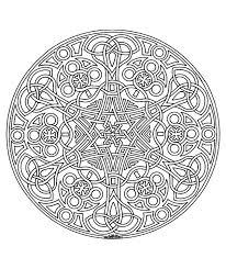 Free Coloring Page Coloring Free Mandala