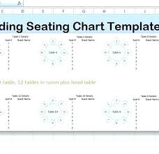Seating Chart Template Excel Table Of 10 Seating Plan Template Tellers Me