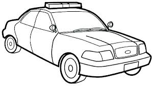 Cool Police Car Coloring Pages Poli Car Coloring Pages To Print Car