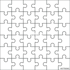Puzzle Invitation Templates Pieces Toolkit For Presentations 8 Piece