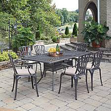 sears outdoor dining table. home styles largo 7-pc patio rectangle dining set with cushion sears outdoor table r