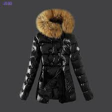 2014 Moncler Down Jackets Womens Zip Fur Collar Light Black Shopping Best  Seller On Sale
