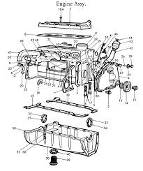 ford 8n engine parts list ford 2n 8n 9n eng parts list