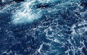 Ocean Wave Background Splashing Waves Ocean Wave High Angle View Of Rippled Water Wave