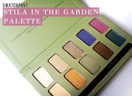 stila in the garden palette swatches and pictures