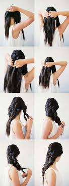 Hairstyle Easy Step By Step 41 diy cool easy hairstyles that real people can actually do at 7005 by stevesalt.us