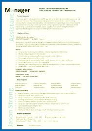 Resume Template Restaurant Manager Pic Assistant Manager Resume 8 1 ...
