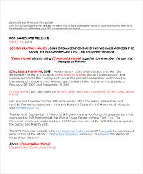 Sample Press Release For Events Ukran Poomar Co