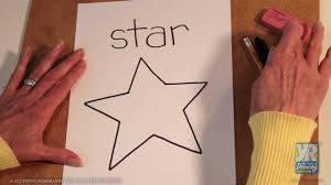 How To Draw A Star Design Teaching Kids How To Draw How To Draw A Star
