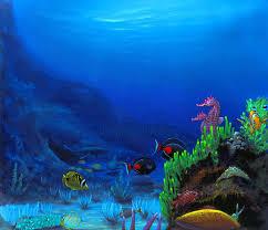 seahorse hawaii paintings