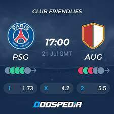 Paris Saint-Germain - Augsburg » Live Score & Stream + Odds, Stats, News