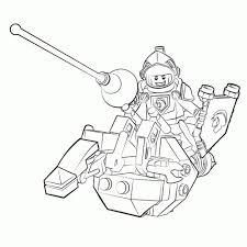 Kleurplaat Lego Nexo Knights Dark