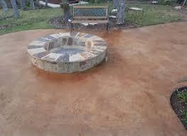 concrete patio designs with fire pit. Concrete Patio Designs With Fire Pit Ideas Wood