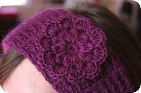 Crochet Flower Pattern For Headband