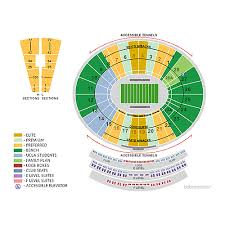 Rose Bowl Seating Chart Ucla Football Arizona State Sun Devils Football At Ucla Bruins Football