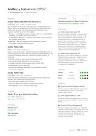 sales associate resume examples and expert advice