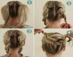 the easy twist bun