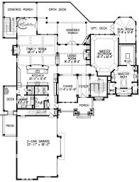 mountain lodge with observatory 15810ge architectural designs Mountain House Plans Cost To Build mountain lodge with observatory 15810ge floor plan main level 4 Bedroom House Plans