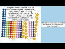 My Big Star Chart Reward Stickers Can Be Used With My Big Star Reward Chart