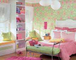 ... Engaging Images Of Modern Girl Bedroom Decoration For Your Lovely  Daughters : Captivating Pink And Green ...