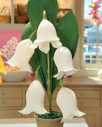 Crepe Paper Lily Of The Valley Martha Stewart