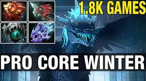 pro core winter wyvern 1 8k games with ww dota 2 youtube