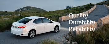 Toyota Global Site | Quality Durability Reliability