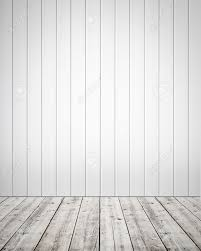 white wood floor background. White Plastic Wall With Wooden Floor Background Stock Photo - 16423695 Wood