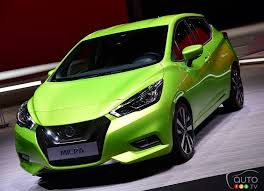2018 nissan micra. interesting nissan allnew 2018 nissan micra world premiere at paris auto show  car news  auto123 intended nissan micra