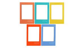 multiple empty picture frames. Fujifilm Instax 5pk Magnetic Frame - Bright Multiple Empty Picture Frames E