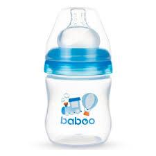 <b>Бутылочка с широким</b> горлышком BABOO Transport с соской ...