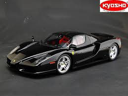 ferrari enzo black and white. kyosho 112 enzo ferrari black 500 pieces limited edition and white