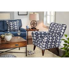 jessie accent chair blue by kroehler living room