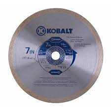 kobalt 7 in continuous diamond saw blade