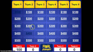 Classroom Jeopardy Template Best Jeopardy Template 24 Best And Professional Templates 1