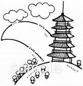 日本文化イラストなら小学校幼稚園向け保育園向け自治会pta