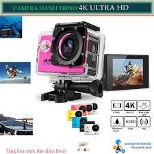 Shop bán Camera Hành Trình ,Camera Hành Trình Sports 4K Ultra Hd Wifi.Độ  Phân Giải 1080P Full HD.Chống Rung Lắc,Chống Nước,tặng móc dán đt.
