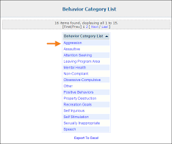 behavior list modify behavior list