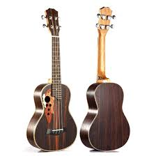 New Soprano mini Hawaii guitar <b>Concert Ukulele 23 inch</b> rosewood ...
