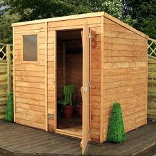 mercia wooden 7 x 5ft overlap garden shed at argos thousands of products for same day delivery 3 95 or fast collection