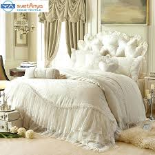 luxury duvet cover king awesome princess lace cotton luxury bedding sets queen king size beige pink