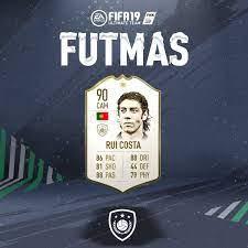"EA SPORTS FIFA auf Twitter: ""🚨 #FUTMAS ICON Rui Costa SBC now available 🚨  #FUT #FIFA19… """