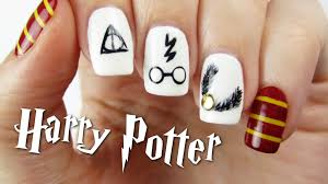 Harry Potter Nail Designs Harry Potter Nail Art Design Flawlessend